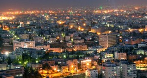 Amman, Jordan is a vibrant city in a peaceful country that shares a peace treaty with Israel.