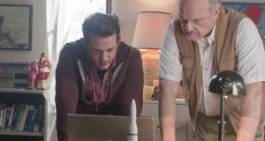 "Daniel Ross Owens, left, stars with veteran actor Fred Thompson who plays KC area resident Harold Finch in ""Unlimited""."