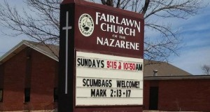 Some of Our Favorite Church Signs
