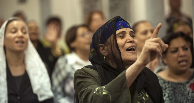 With a military ouster of the Muslim Brotherhood, peace has returned to some Christian neighborhoods.