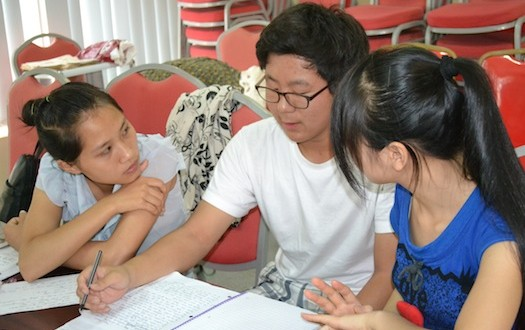 Chinese students are anxious to learn English and the Lutheran Church Missouri Synod wants Americans to fill the need for teachers