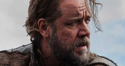 "Russell Crowe in ""Noah"". Pope Francis is said to be meeting with the star and director in advance of the release on March 28."