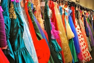 Prom dresses of every size, color and style will be available for free.
