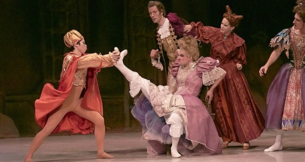 "KC Ballet is brining awe and laughter to area families with production of ""Cinderella""."