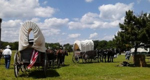 """Echoes of the Trail will draw thousands from across Missouri, Kansas, Oklahoma and Arkansas to relive the days when an """"infant message"""" took four months by wagon train."""
