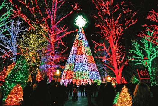 Silver Dollar City is transformed into one of the TOP 5 Christmas destinations as  picked by the national media.