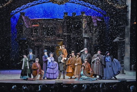 "Dickens' ""A Christmas Carol"" is brought to the musical stage with a production that any large city would be  proud to host. It's a favorite of our family!"