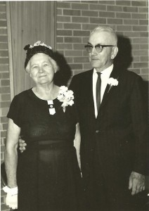 Grandma and Grandpa Mannes