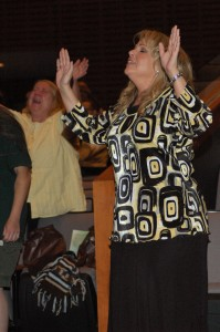 Women find worship at Woman After God's Own Heart Conference, deep and personal.