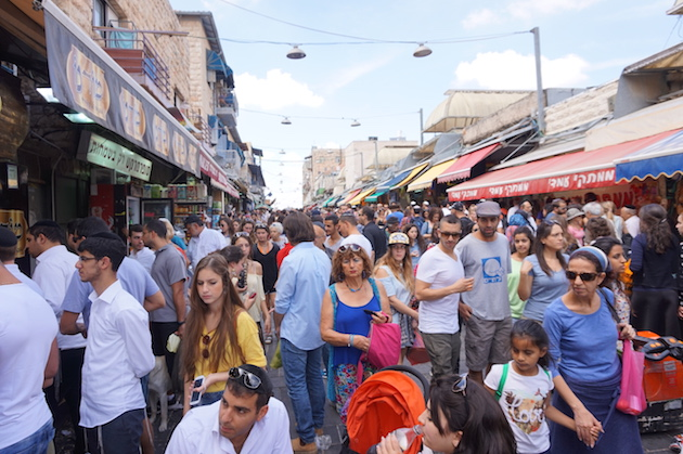 Jerusalem's many markets are where most of the city's residents shop for food and necessities. They are also popular with tourists who are amazed by the hustle and bustle and seemingly organized chaos.
