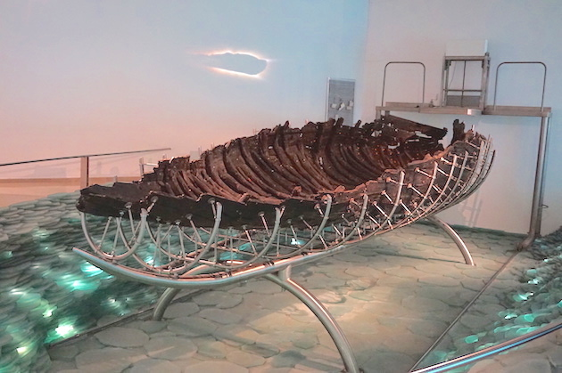 "The ""Jesus Boat"" was given that name by tourists. It is the oldest known fishing boat ever recovered from the Sea of Galilee and carbon dating puts its origin in the First Century."
