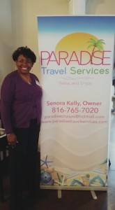 Señora Kelly is owner of Paradise Travel Services in Kansas City.