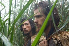 Garrpe, left, played by Adam Driver and Rodriques played by Andrew Garfield.