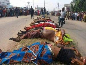 nigerian christians murdered