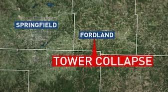 tv tower collapse missouri