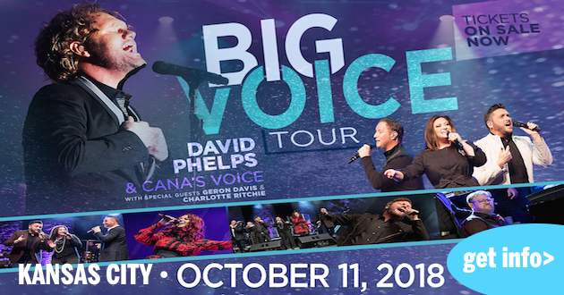 David Phelps and The Big Voice Tour tonight in Independence