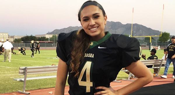 6868e393c Becca Longo could be the first female NFL player - Metro Voice News