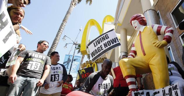 Fast-Food-Worker-Strike - Metro Voice News