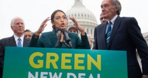 green new deal cow
