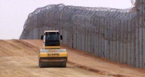 israel border wall