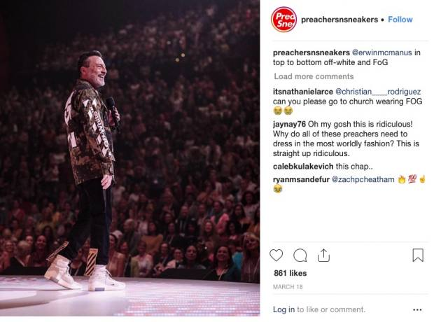 Pastors called out for wearing $4000 sneakers - Metro Voice News