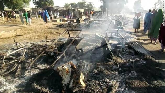 nigerian-burned-vehicles - Metro Voice News