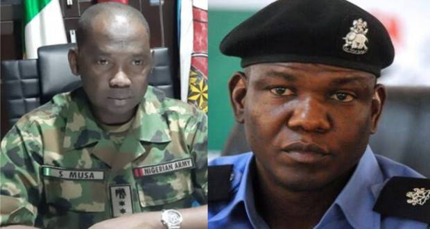 Nigerians cry foul after policemen felled by Nigerian Army