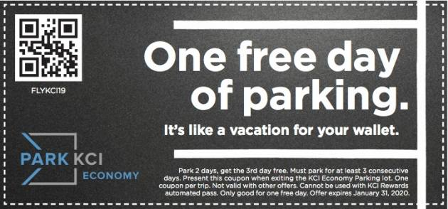flykci coupon parking free