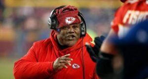 Chiefs offensive coordinator Eric Bienemy