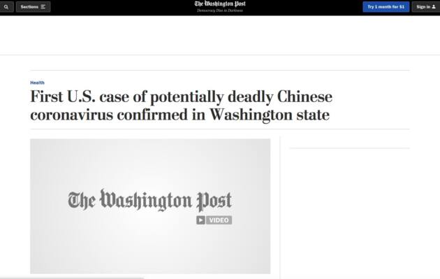 chinese virus trump