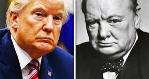 churchill trump