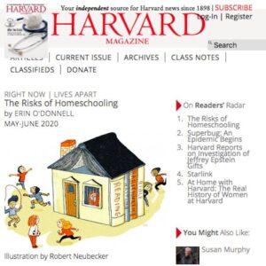 harvard homeschooling