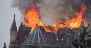 cathedrals burn