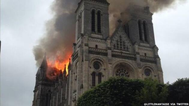 cathedral fires
