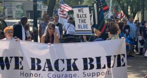 we back blue