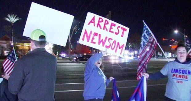 newsom lockdowns