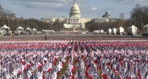 flags inauguration
