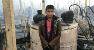 rohingya arson